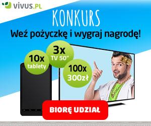 Vivus - 1600 zł za darmo na 30 dni i konkurs z nagrodami