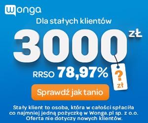 Wonga - pożyczka