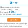 Wonga - pożyczka ratalna w super cenie