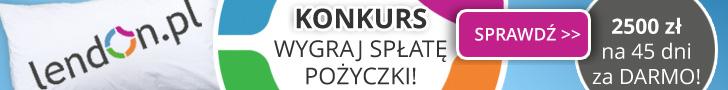 Lendon - darmowa pożyczką 2500 zł