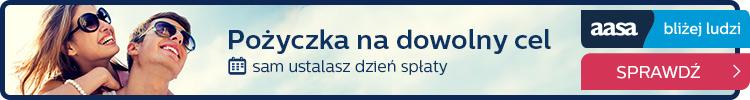 AASA Kredyt - pożyczka do 3400 zł