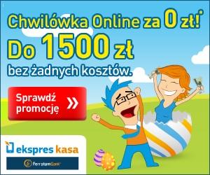 Ekspres kasa - darmowa chwilówka do 1500 zł