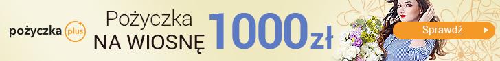 Pożycz na wiosnę 1000 zł od pożyczka plus