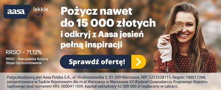 Weź pożyczkę w Aasa Polska