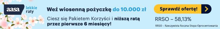 AASA Kredyt - pożyczka ratalna online do 10 000 zł
