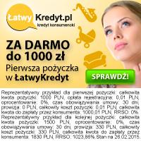 Łatwy Kredyt - 1000 zł za darmo