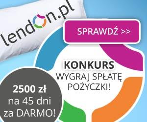 Lendon - pożyczka nawet do 5000 zł i 2500 za darmo!