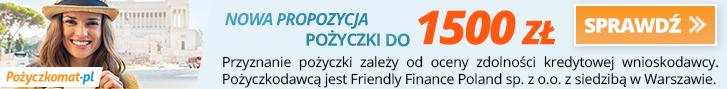 1500 zł za darmo i maksymalna kwota 7500 zł w Pożyczkomat!