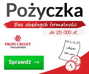 Profi Credit - pożyczka na raty