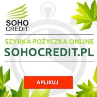 Soho Credit - darmowa chwilówka przez internet
