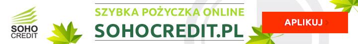 Soho Credit - szybka pożyczka online 1000 zł za darmo