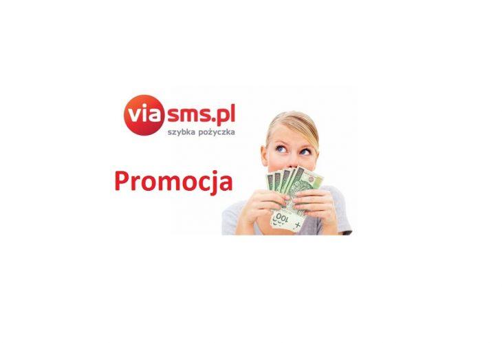Promocja w Via SMS - pierwsza pożyczka za darmo