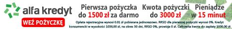 1500 zł za darmo w Alfa Kredyt!