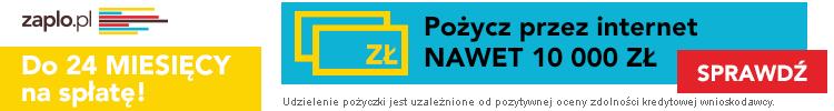 Zaplo - 10000 zł przez internet