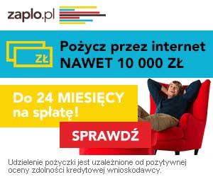 Zaplo - pożyczki prez internet do 10 000 zł
