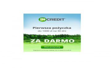 Promocja InCredit - do 1000zł za darmo