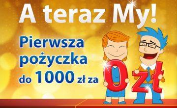 Pierwsze 1000 zł za darmo w Ekspres Kasie na 30 dni
