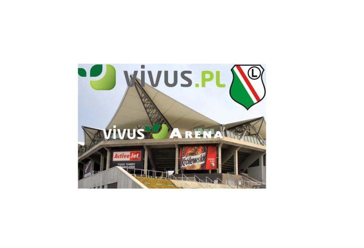 Vivus nowym sponsorem Legii Warszawa