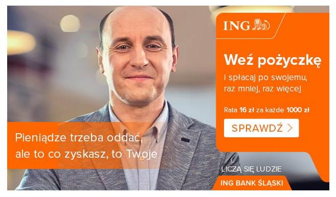 Pożyczka gotówkowa w ING