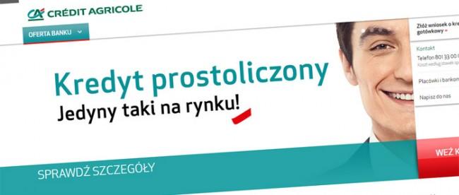 Kredyt w Credit Agricole