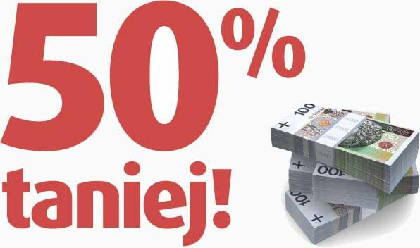 Plus Bank - kredyt gotówkowy 50% taniej