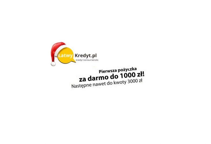 Łatwy Kredyt – darmowy 1000 zł i duża akceptowalność