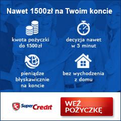 Super Credit - chwilówka online i offline