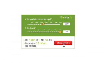 1600 zł za darmo w VIVUS
