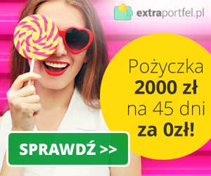 Extraportfel - pożyczka do 2000 zł na 45 dni