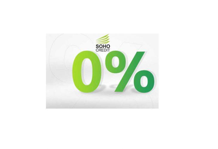 SohoCredit podwyższa kwotę pierwszej pożyczki