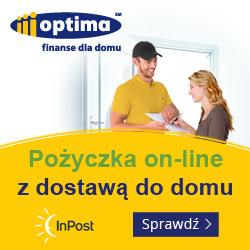 Optima - pożyczka z dostawą do domu