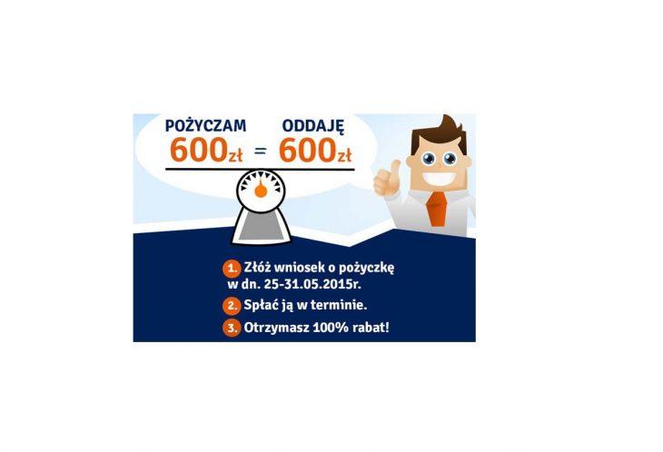 Pożyczka Plus - Pożyczam 600 zł oddaję 600 zł