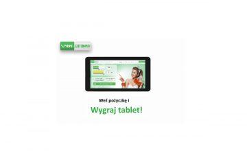 Szybka gotówka – wygraj tablet