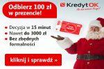 Bonus 100 zł w Kredyt oK