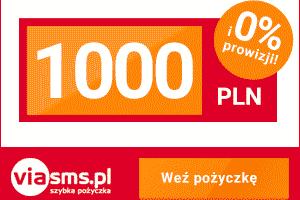Darmowa pożyczka - 1000 zł od Via SMS