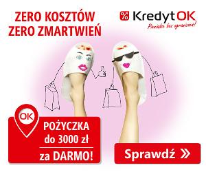 Pożyczka ratalna ażdo 15000 zł w KredytOK oraz darmowa chwilówka 3000 zł!