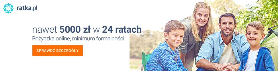 Ratka.pl - pożyczka 5000 zł na 24 miesiące