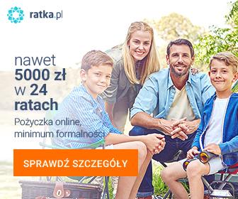 5000 zł na 24 raty od Ratka.pl