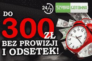 Szybka gotówka - 300 zł za darmo!
