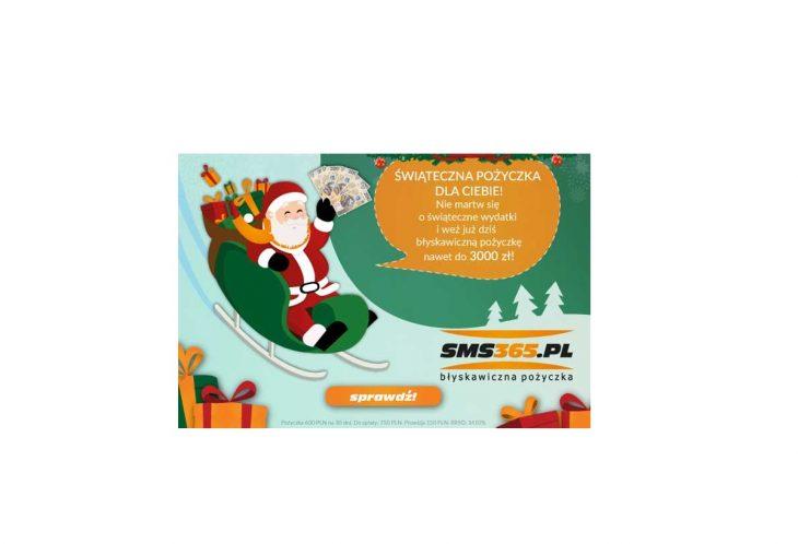 Świąteczna pożyczka w SMS365
