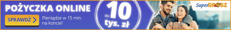Super Grosz - nawet 10000 zł na 48 miesięcy!