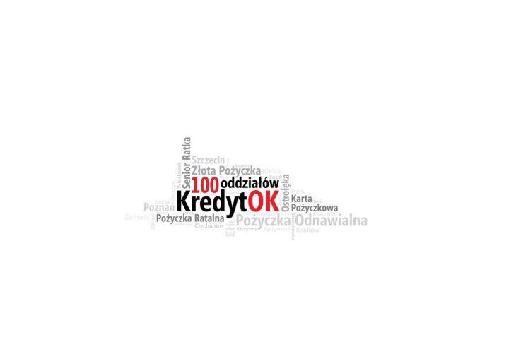 100 oddział w Polsce - KredytOK jeszcze bliżej Klientów!