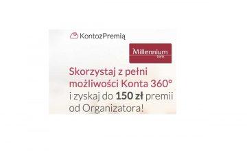 Bank Millennium 150 zł premii za aktywność