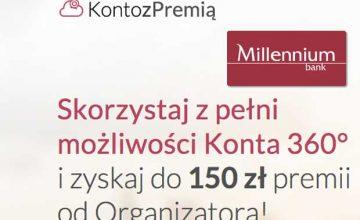 Konto z Premią millenium Bank
