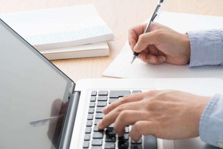 Proces rejestracji na stronie www chwilówki