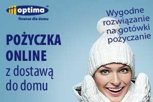 Optima - świąteczna oferta pożyczki przez internet
