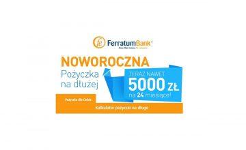 Ferratum Bank 5000 zł na 24 miesiące
