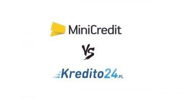Mini Credit kontra Kredito 24 - porównanie