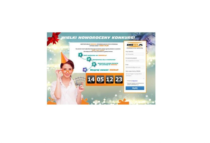 Noworoczny konkurs SMS365