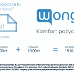 Promocja w Wonga - 1500 zł na 60 dni!